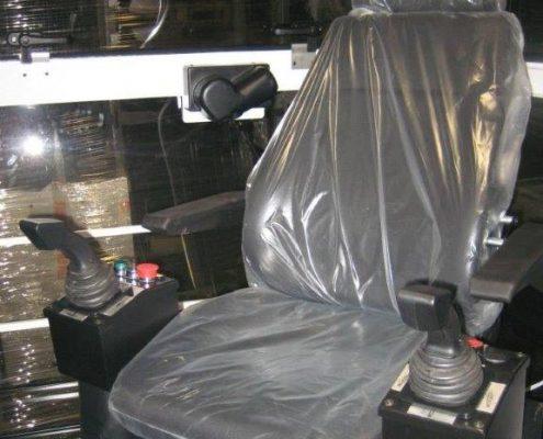 poltrona con joystick gc italia produttore gru peiner system
